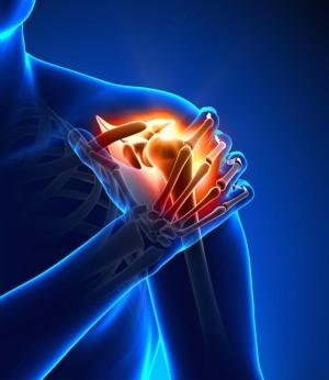 Плечелопаточный периартроз начинается с небольших болей в плечевом суставе