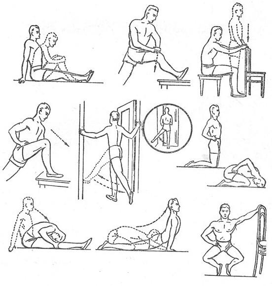 Комплекс физических упражнений при коксартрозе тазобедренного сустава откуда берется жидкость в коленном суставе