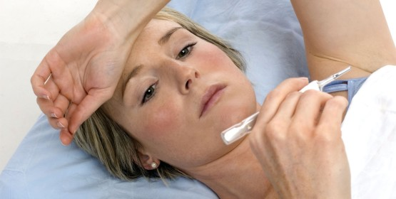 Температура - один из признаков артрита